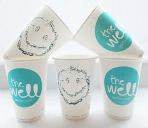 The Well Logoed Cups